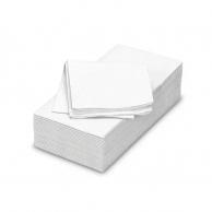 Серветки білі 1/8, 33 х 33 см, 250 шт.