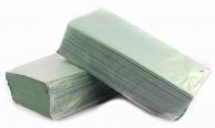 Рушники паперові зелені V-складання, 160 листів