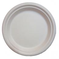 Тарелка бумажная, d - 23 см