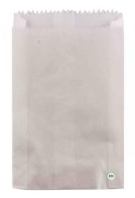 Пакет паперовий білий для хачапури, 220 х 70 х 280 мм