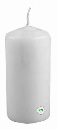 Свеча парафиновая белая, 50 х 100 мм