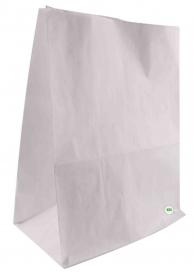 Пакет бумажный с собой, белый