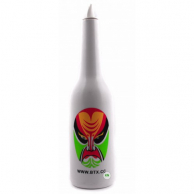 Бутылка для флейринга белая (с рисунком)
