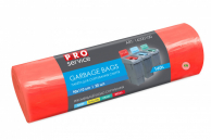 Пакеты для мусора красные LD, 160 л, 20 шт.
