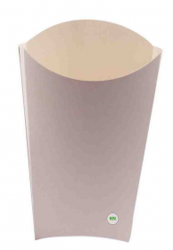 Упаковка для картофеля фри, 120 х 90 мм (вig)