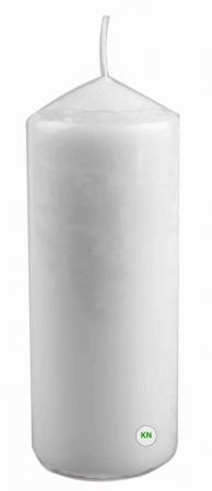 Свічка парафінова біла, 80 х 150 мм
