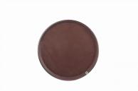 Поднос коричневый, 41 см, арт. KN-А8-622С
