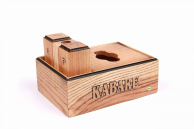 Набір дерев'яний: спецовники + серветниця закрита