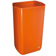 Корзина для мусора оранжевая, 23 л, арт. 742AR