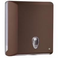Диспенсер для полотенец Z-сложения коричневый, арт. 706MA