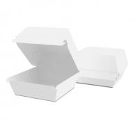 Упаковка для бургера белая, 120 х 120 х 120 мм