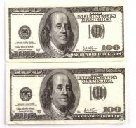 Салфетка (33), 3-сл., Money-Money, 20 шт.