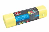 Пакеты для мусора жёлтые LD, 160 л, 20 шт.