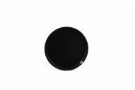 Поднос черный, 28 см, арт. KN-А8-620В