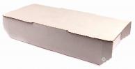Коробка для хачапури белая, 27,5 х 14,5 х 6,5 см