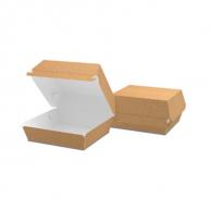Упаковка для бургера крафтова, 94 х 70 х 94 мм