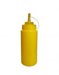 Пляшка для соусів з носиком жовта, 360 мл
