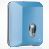 Диспенсер для туалетной бумаги V-сложения голубой, арт. 622AZ