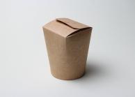 Упаковка для лапши крафтовая, V - 900 мл