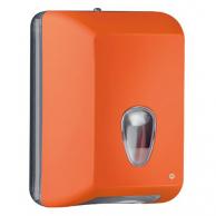 Диспенсер для туалетной бумаги V-сложения оранжевый, арт. 622AR