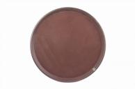 Піднос коричневий «антисліп», 46 см