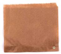 Пакет паперовий коричневий для бургера/сендвіча, 170 х 170 мм