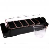 Ящик барный (холдер), 6 ячеек, арт. BN6D