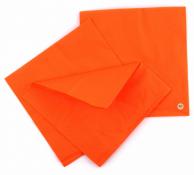 Серветки помаранчеві, 33 х 33 см, 50 шт.