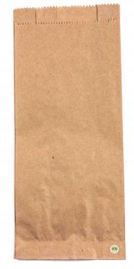 Пакет паперовий коричневий для пляшки, 340 х 140 х 60 мм