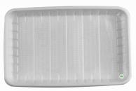 Тарілка пластикова прямокутна, 210 х 130 х 21 мм, 100 шт.