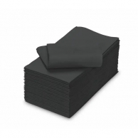 Серветки чорні 1/8, 33 х 33 см, 250 шт.