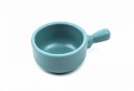 Соусник круглый пастельно-голубой с ручкой, 40 мл, арт. 607066