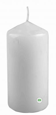 Свеча парафиновая белая, 60 х 120 мм