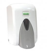 Диспенсер для жидкого мыла/шампуня белый, арт. S5