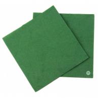 Серветки зелені, 33 х 33 см