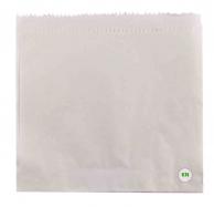 Пакет бумажный белый для бургера/сэндвича,  170 х 170 мм