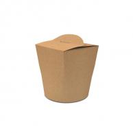 Упаковка для лапши крафтовая, V - 600 мл