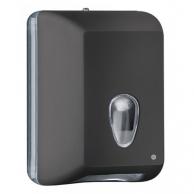 Диспенсер для туалетной бумаги V-сложения чёрный, арт. 622NE