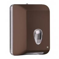 Диспенсер для туалетного паперу V-складання коричневий, арт. 622MA