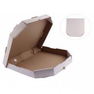 Коробка для піци біла, d - 35 см