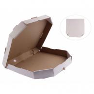Коробка для пиццы белая, d - 30 см
