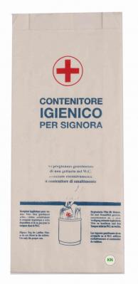 Пакеты гигиенические бумажный, 275х120 мм