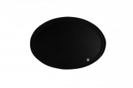 Поднос черный «антислип», 49 х 59 см
