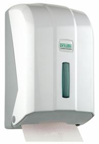 Диспенсер для листовой туалетной бумаги белый, арт. K6Z