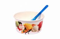 Морозивниця паперова біла, 280 мл