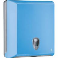 Диспенсер для полотенец Z-сложения голубой, арт. 706AZ