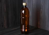 Пляшка ПЕТ з вузьким горлом пивна, 1000 мл, арт. 018