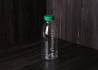Пляшка ПЕТ з широким горлом, 500 мл