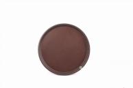 Піднос коричневий, 36 см, арт. KN-А8-621С