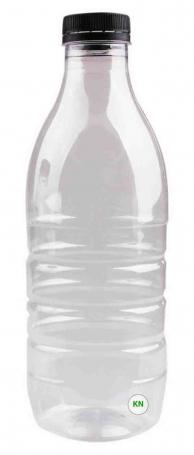 Бутылка ПЭТ с широким горлом, 1000 мл